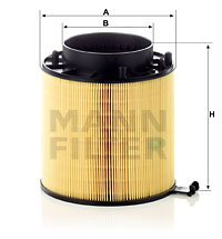 Ilustracja C 16 114 x MANN-FILTER filtr powietrza