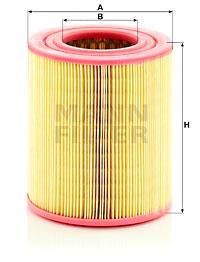Ilustracja C 16 118 MANN-FILTER filtr powietrza