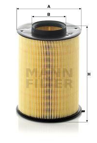 Ilustracja C 16 134/1 MANN-FILTER filtr powietrza