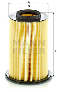 Ilustracja C 16 134/2 MANN-FILTER filtr powietrza