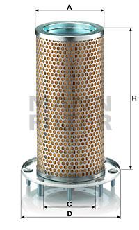 Ilustracja C 16 140 MANN-FILTER filtr powietrza wtórnego
