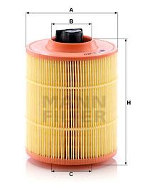 Ilustracja C 16 142/2 MANN-FILTER filtr powietrza