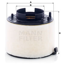 Ilustracja C 17 009 MANN-FILTER filtr powietrza