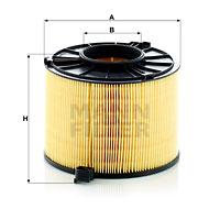 Ilustracja C 17 012/1 MANN-FILTER filtr powietrza