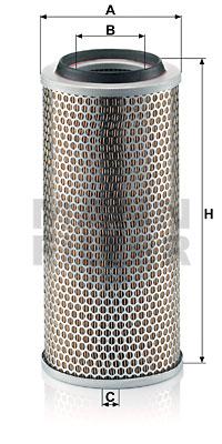Ilustracja C 17 225/3 MANN-FILTER filtr powietrza