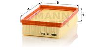 Ilustracja C 18 008 MANN-FILTER filtr powietrza