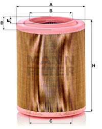 Ilustracja C 18 003 MANN-FILTER filtr powietrza