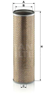 Ilustracja C 18 292 MANN-FILTER filtr powietrza wtórnego
