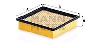 Ilustracja C 19 003 MANN-FILTER filtr powietrza