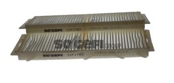 Ilustracja AH292-2 PURFLUX filtr kabinowy