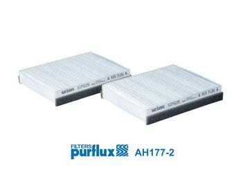 Ilustracja AH177-2 PURFLUX filtr kabinowy