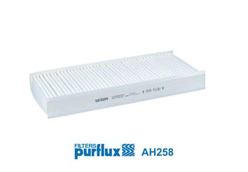 Ilustracja AH258 PURFLUX filtr kabinowy