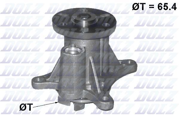 Ilustracja C137 DOLZ pompa wodna