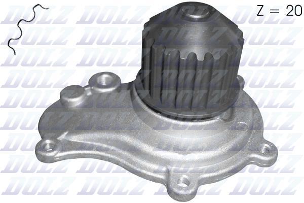 Ilustracja C141 DOLZ pompa wodna