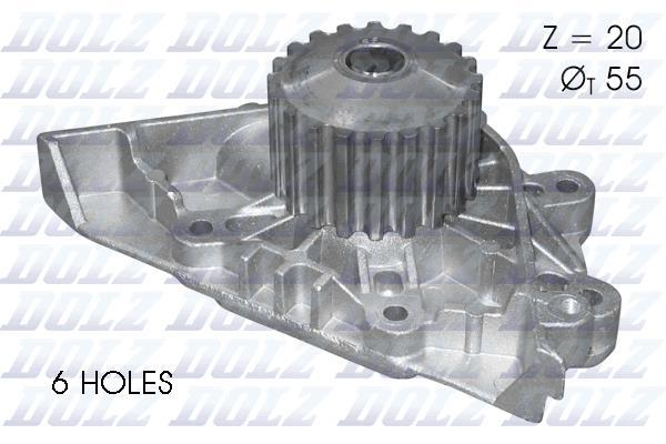 Ilustracja C144 DOLZ pompa wodna