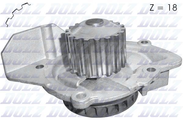Ilustracja C147 DOLZ pompa wodna