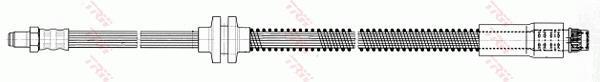 Ilustracja PHB500 TRW przewód hamulcowy elastyczny