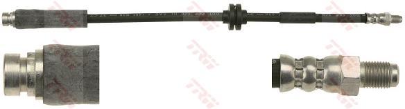 Ilustracja PHB501 TRW przewód hamulcowy elastyczny