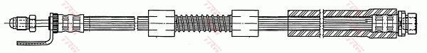Ilustracja PHB507 TRW przewód hamulcowy elastyczny