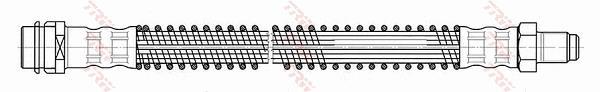 Ilustracja PHB525 TRW przewód hamulcowy elastyczny