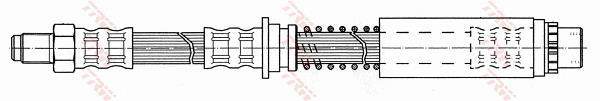 Ilustracja PHB527 TRW przewód hamulcowy elastyczny
