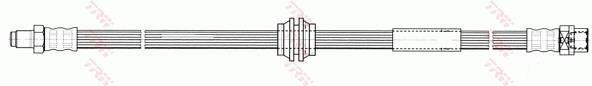 Ilustracja PHB528 TRW przewód hamulcowy elastyczny