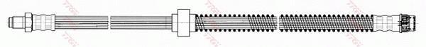 Ilustracja PHB530 TRW przewód hamulcowy elastyczny