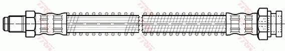 Ilustracja PHB534 TRW przewód hamulcowy elastyczny