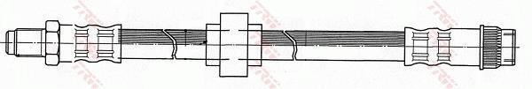 Ilustracja PHB541 TRW przewód hamulcowy elastyczny