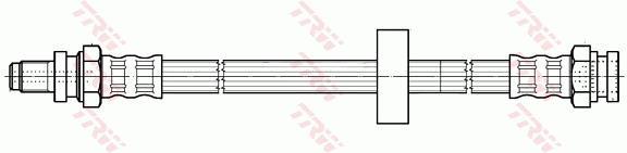 Ilustracja PHB549 TRW przewód hamulcowy elastyczny
