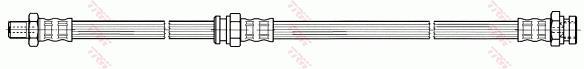 Ilustracja PHB550 TRW przewód hamulcowy elastyczny