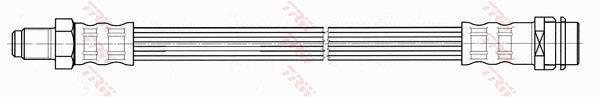 Ilustracja PHB572 TRW przewód hamulcowy elastyczny