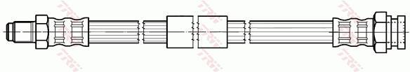 Ilustracja PHB575 TRW przewód hamulcowy elastyczny