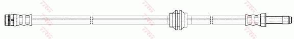 Ilustracja PHB582 TRW przewód hamulcowy elastyczny