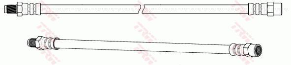 Ilustracja PHB583 TRW przewód hamulcowy elastyczny