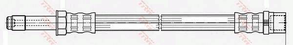 Ilustracja PHB624 TRW przewód hamulcowy elastyczny