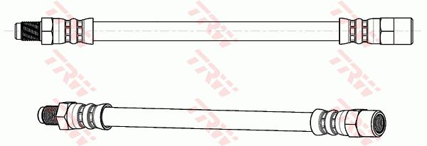 Ilustracja PHB650 TRW przewód hamulcowy elastyczny