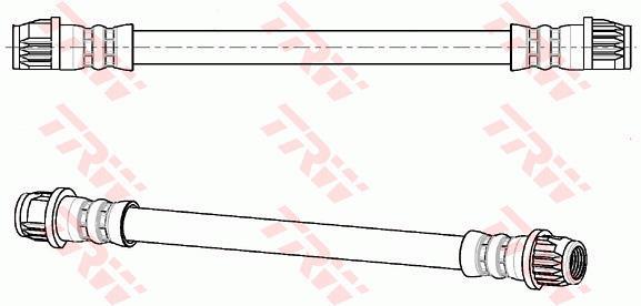 Ilustracja PHB901 TRW przewód hamulcowy elastyczny