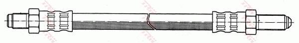 Ilustracja PHC103 TRW przewód hamulcowy elastyczny