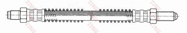 Ilustracja PHC104 TRW przewód hamulcowy elastyczny