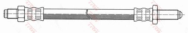 Ilustracja PHC106 TRW przewód hamulcowy elastyczny