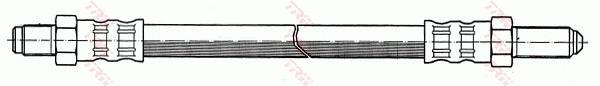 Ilustracja PHC109 TRW przewód hamulcowy elastyczny