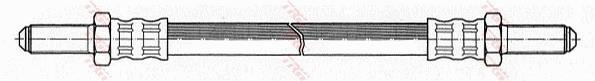Ilustracja PHC115 TRW przewód hamulcowy elastyczny