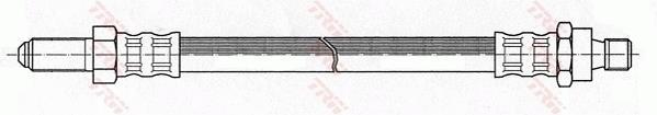 Ilustracja PHC126 TRW przewód hamulcowy elastyczny