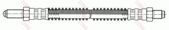Ilustracja PHC135 TRW przewód hamulcowy elastyczny