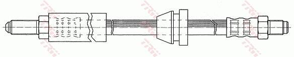 Ilustracja PHC137 TRW przewód hamulcowy elastyczny