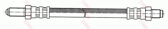 Ilustracja PHC145 TRW przewód hamulcowy elastyczny