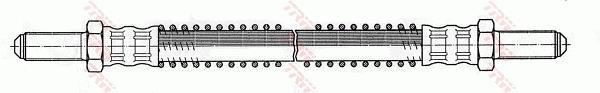 Ilustracja PHC148 TRW przewód hamulcowy elastyczny