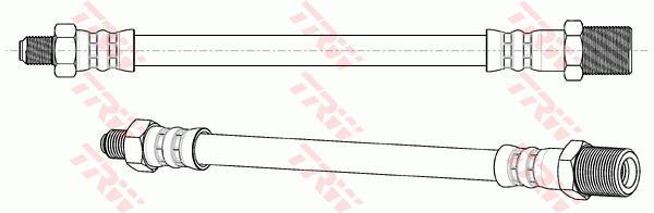 Ilustracja PHC167 TRW przewód sprzęgła
