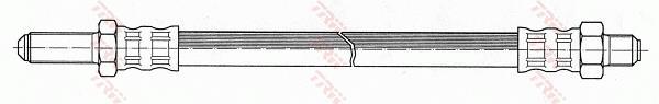 Ilustracja PHC171 TRW przewód hamulcowy elastyczny
